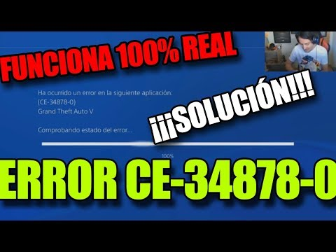 😱ERROR CE-34878-0 PS4 SOLUCION 2018 [100% FUNCIONA]😱 - PakVim net
