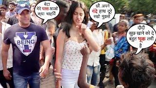 Beggar Asks For Food From Salman Khan & Ananya Panday | See Who Wins Heart