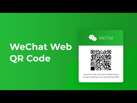 WeChat Web QR Code: How to use WeChat on your computer