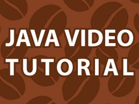 Java Video Tutorial