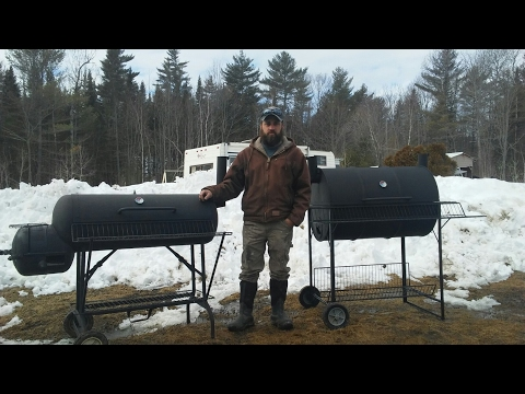 Propane tank smoker and 55 gal drum bbq grill