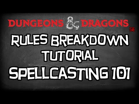 Dungeons & Dragons 5e Tutorial,