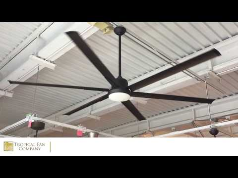 84 inch Titan Ceiling Fan with Extruded Aluminum Blades by TroposAir
