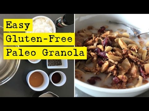Easy Gluten Free Paleo Granola