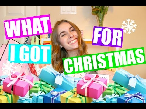 WHAT I GOT FOR CHRISTMAS 2016!!