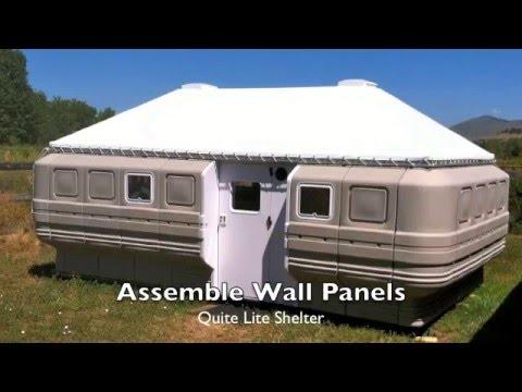 Quite Lite Shelter Assembly