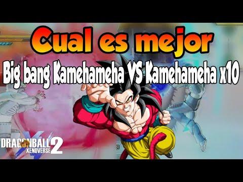 Comparando habilidades [●BigBang Kamehameha VS Kamehameha x10●] Dragon Ball Xenoverse 2 | M0ntbl4ck