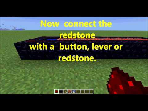 HOW TO MAKE A TNT CANNON 1.6.2