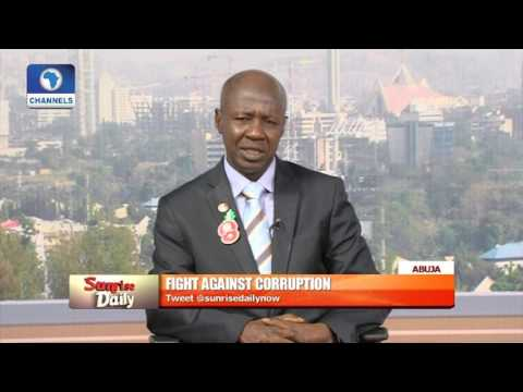 We Need Support Of Every Nigerian In Fighting Corruption -- EFCC Boss Pt. 1