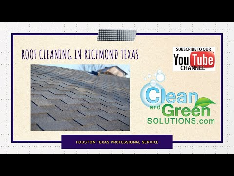 How To Clean Houston Texas Roof