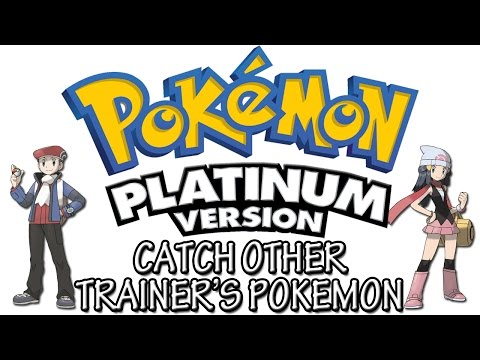 Pokemon Platinum - Catch Other Trainer's Pokemon | Action Replay Codes