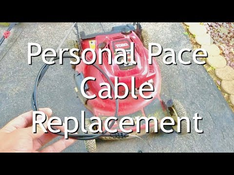 Toro Personal Pace Cable Replacement