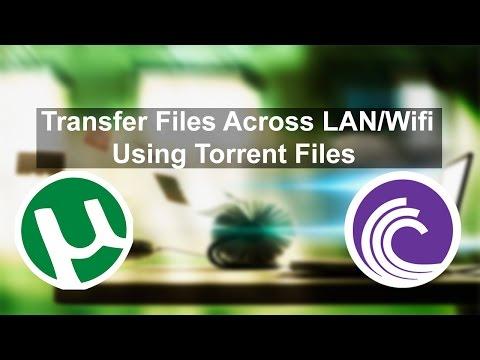 Transfer or Share Files Folders across LAN using Torrent (Tech Life Hack)