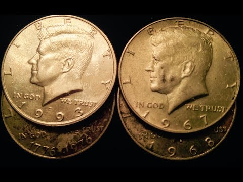 Kennedy Half Dollars To Look For