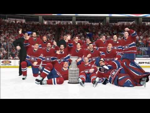 NHL 08 - Montreal Canadiens Win The Stanley Cup On Playstation 3