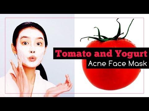 Yogurt and Tomato Face Mask for Acne (Recipe)