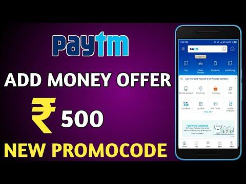 Paytm Add Money Paytm New PROMOCODE 2018 || ₹500 Paytm New Promocode ||Technical Ravi