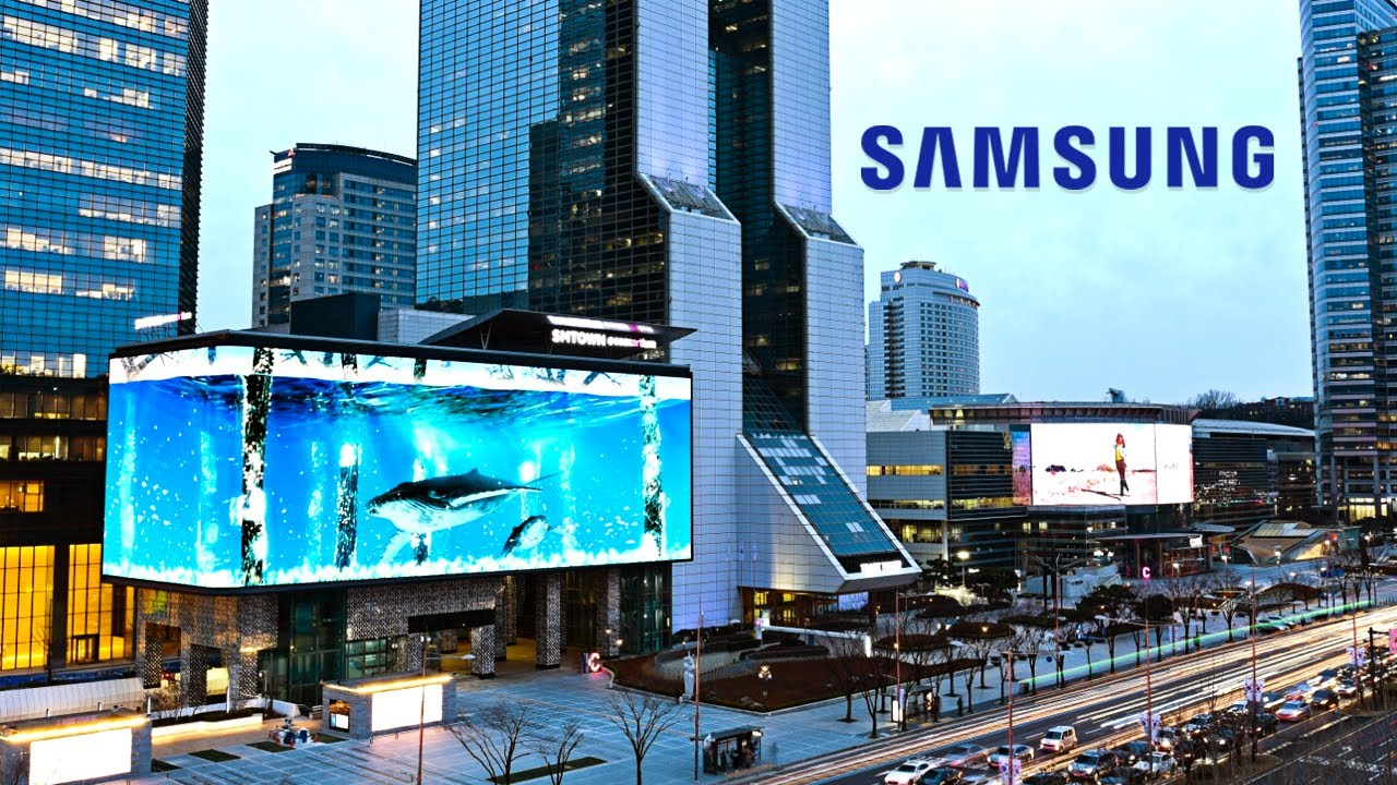 Inside Samsung's Massive Digital City