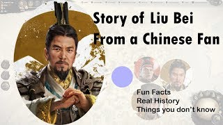 The Real Story of Liu Bei   The crying, the abandon and the odd looking