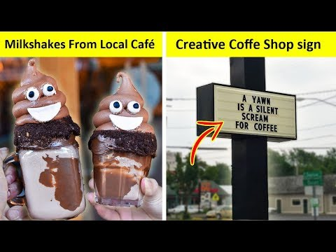 Genius Coffee Shops That Will Surprise You With Their Creativity