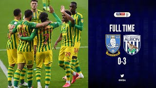 FINALLY A GOAL AND A WIN!| SHEFFIELD WEDNESDAY 0-3 WEST BROMWICH ALBION MATCH REACTION!