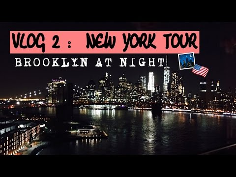 VLOG 2 - TIMES SQUARE I BROOKLYN  I NEW YORK TOUR