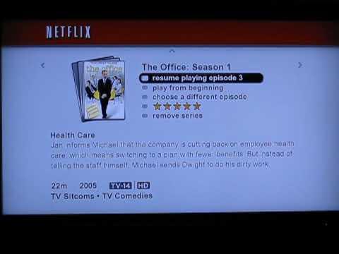 Netflix PS3 Streaming