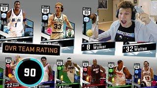 OMG 90 RATED DRAFT! BACK TO BACK NBA 2K17 DRAFT