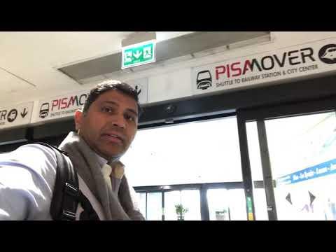 Arriving in Pisa international Airport