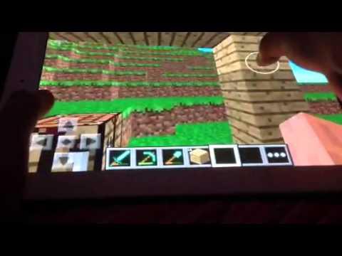 Let's Play Minecraft PE:Episode 6-Enchanting Hut (Part 1)