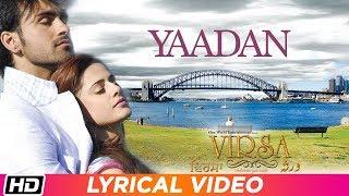 Yaadan   Lyrical Video   Virsa   Jawad Ahmad   Latest Punjabi Song