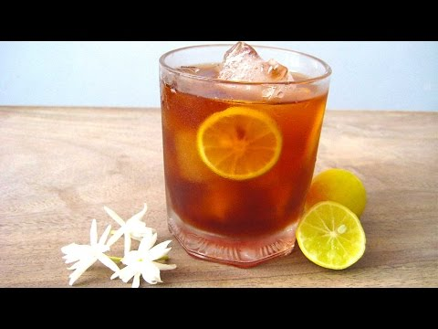 Lemon Iced Tea Recipe in Hindi - लेमन आइस टी by Sameer Goyal @ jaipurthepinkcity.com