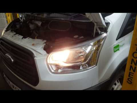 New Ford Transit 2016 diesel fuel filter replacement and bleeding. PLEASE WATCH BEFORE CHANGING.
