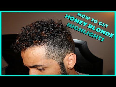 HOW TO BLEACH/DYE YOUR HAIR HONEY BLONDE (MENS HAIR)