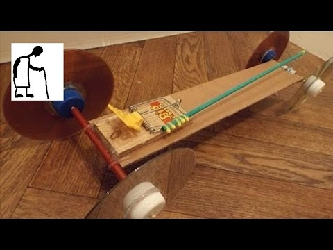 Mousetrap Car for Nick Paparesta
