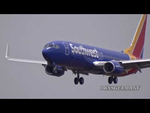First Flight of Southwest Boeing 737-800 N8534Z w/ Missed Approach