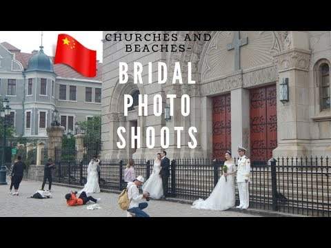 Churches in an atheist county | Bridal photo shoots in China
