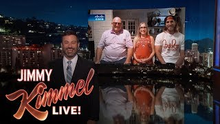 Jimmy Kimmel Interviews Family Attacked by Mystery Sausage