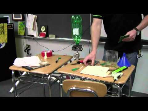 Middle School STEM Project - Water Bottle Rocket