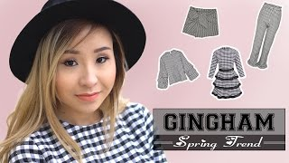 HOW TO STYLE | SPRING TREND 2017: GINGHAM