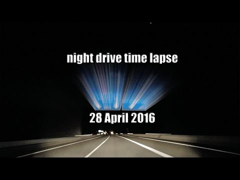 gopro time lapse car journey Market Harborough England - Beziers France 5 night drive Millau viaduct