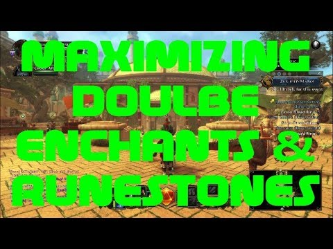 MAXIMIZING Double Enchants & Runes! (which is LIVE!) - Neverwinter December 2017