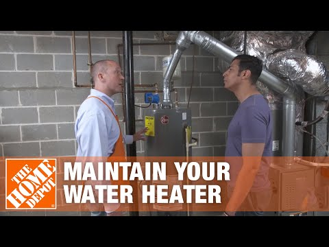 How To Flush & Drain a Hot Water Heater | Maintenance Tips
