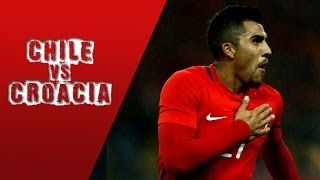 Chile 1 (4) - (1) 1 Croacia | China Cup 2017