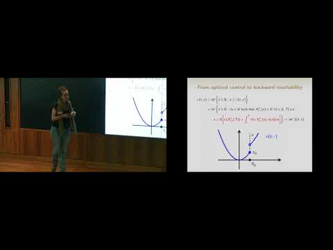 State constrained optimal control problems via reachability approach by Athena Picarelli