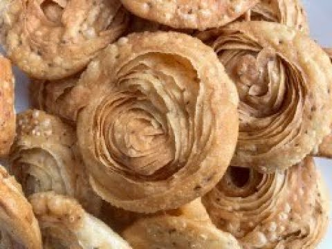 Savory Indian Snack  Chiroti (Khaja) - Indian Pastry in English with Raihana's Cuisines