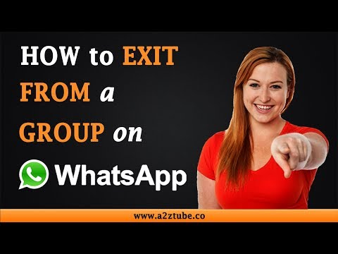 How to Exit From a WhatsApp Group on an Android Device