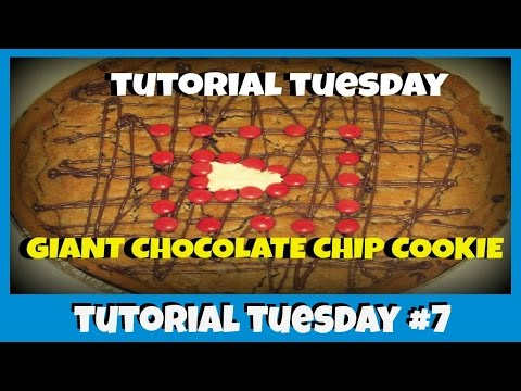 World's Largest Chocolate Chip Cookie - DIY
