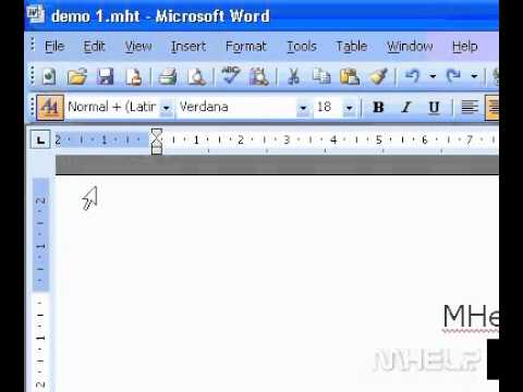 Microsoft Office Word 2003 Print multiple pages on one sheet of paper