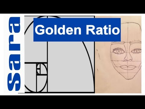The Golden Ratio In Drawing:Applying It To A Face